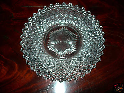 Vintage English Hobnail Westmoreland Clear Glass Plate Pretty!!