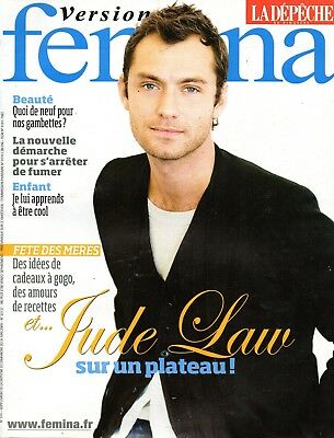 French mag 2009: JUDE LAW