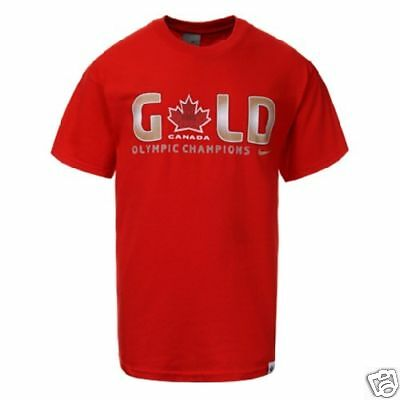 Vancouver 2010 Canada Gold Medal Champion T-Shirt XL