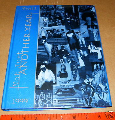 1999 Statesville High School North Carolina NC Yearbook The Trail