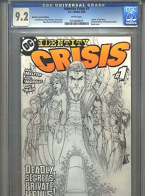 Identity Crisis #1 CGC 9.2 (2004) Diamond Retailer Summit Promotional Incentive