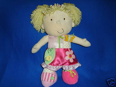 Dress Up Princess Doll Manhattan Toy Plush Learning Toy