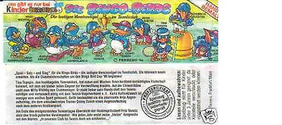 Kinder - Cartina - Die Bingo Birds - Tedesca