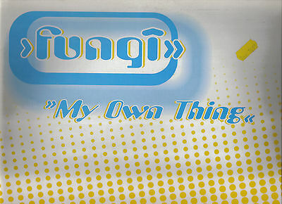 Selten ! Fungi - My Own Thing / Bubblegum Flavours 1996