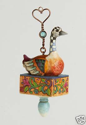 Heartwood Creek Six Geese a-laying Tree Ornament 12306