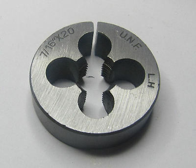 "Rdgtools 7/16"" Unf Die  / Left Hand Thread 20Tpi"