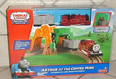 Thomas & Friends Trackmaster Motorized Engine Arthur At The Copper Mine