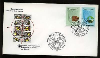 United Nations Vienna 1982 Nature Conservation FDC