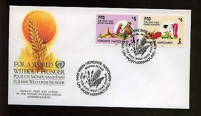 United Nations Vienna 1988 Agriculture Development FDC