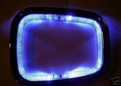 Blue Led Chrome Gear Surround For Vw Golf Vento