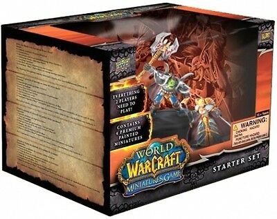 WoW World of Warcraft Miniature Starter Set MINT