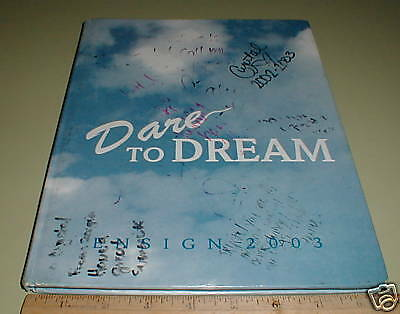 2003 Ensign Intermediate School Newport Beach Yearbook