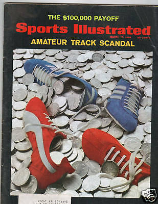 SPORTS ILLUSTRATED MARCH 10, 1969 ..TRACK SCANDAL....