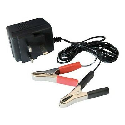 Silverline 12v/12 Volt Battery Trickle Charger Auto Car/Van/Motorcycle, 634004