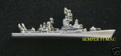 Uss Lawrence Ddg-4 Hat Lapel Pin Vietnam Vet Destroyer Made In Us Navy Gift Wow