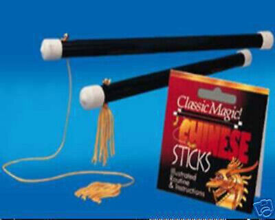 Magic Trick Chinese Sticks Close Up Stage VIDEO DEMO!!!
