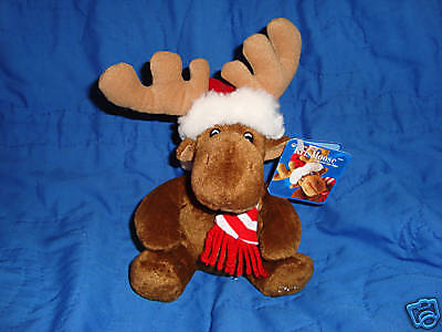 Sears KrisMoose Christmas Plush Moose w/tags