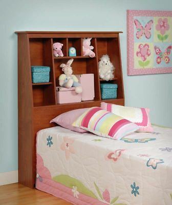 Sonoma Tall Twin Size Bookcase Bed Headboard Cherry NEW