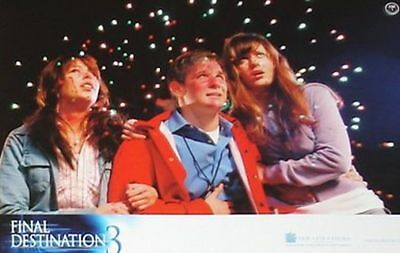 FINAL DESTINATION 3 - Lobby Cards Set - Mary Elizabeth Winstead - HORROR