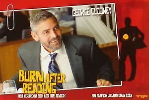 BURN AFTER READING - Lobby Cards Set - George Clooney