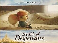 THE TALE OF DESPEREAUX - 11x14 US Lobby Cards Set of 8