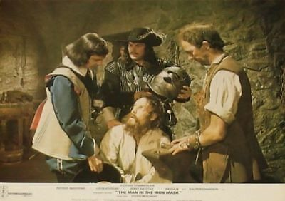 THE MAN IN THE IRON MASK - 11x14 US Lobby Cards Set - Richard Chamberlain