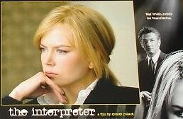 THE INTERPRETER 11x14 US Lobby Cards Set - Kidman, Penn