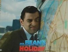 MR. BEAN'S HOLIDAY 11x14 US Lobby Cards Rowan Atkinson