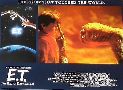 E.T. the Extra-Terrestrial - 11x14 Lobby Cards Set - Steven Spielberg 1985 RR