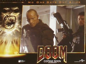 DOOM - 11x14 US Lobby Cards Set - HORROR - The Rock