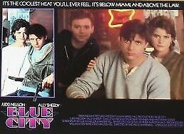 BLUE CITY - 11x14 US Lobby Cards Set - David Caruso