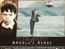 ANGELA'S ASHES - 11x14 US Lobby Cards Set Robert Carlyl