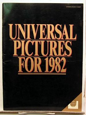 UNIVERSAL PICTURES FOR 1982 Conan Dark Crystal E.T. etc