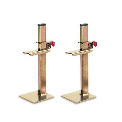 "Rubi Batten Stands Pair - Rule Support Set  30cm 12"" - 60991"