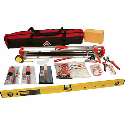 Rubi Tiling Tools Kit inc Rubi Star MAX 65 Tile Cutter