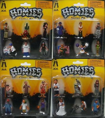 Homies Series 6 Figures Set Of 24 Pcs New Blister Card