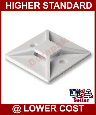 """Clearance Sale 20,000 4 Way Cable Tie Mount Base 3/4"""""""