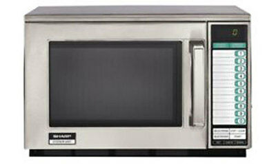 Commercial Microwave Oven Sharp R-25JTF 2100 watts