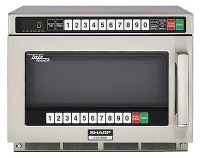 Commercial Microwave Oven Sharp R-CD1800M 1800 watts