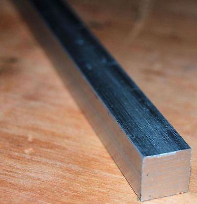 "12"" / 300 Mm Long Aluminium Square Bar 1/4 "" Square Rod From Chronos"