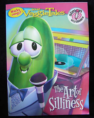 Veggie Tales Coloring Book  The Art of Silliness