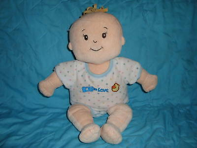 """Manhattan Baby 13"""" Plush doll with outfit"""