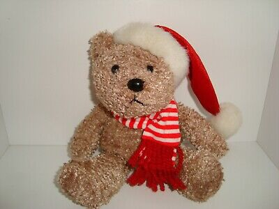 Sears Plush Bear KRINGLE Christmas 2000 Exclusive