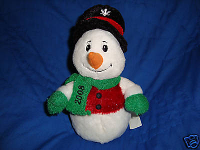 Christmas Plush Beanbag Sears Exclusive Snowball 8""