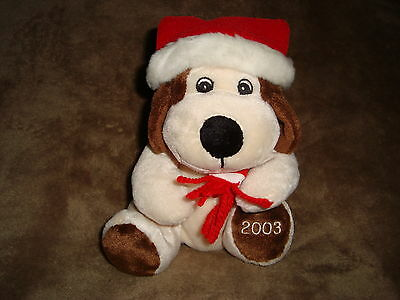 Christmas Plush Dog Baxter Sears Exclusive 2003 6""