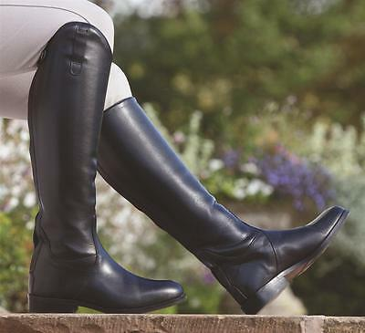 new Shires norfolk long leather zip up riding boots