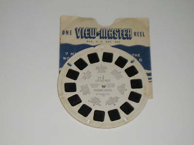 Viewmaster Little Red Riding Hood FT-1 1946 Sawyer's
