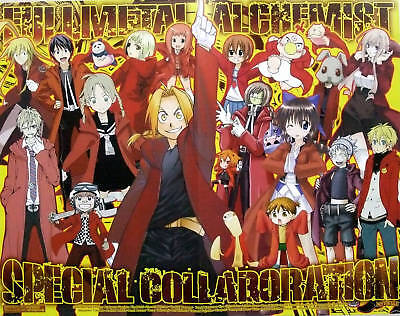 Fullmetal Alchemist collaboration poster official promo