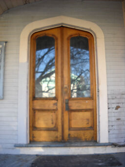 Victorian Gothic Entry Doors.