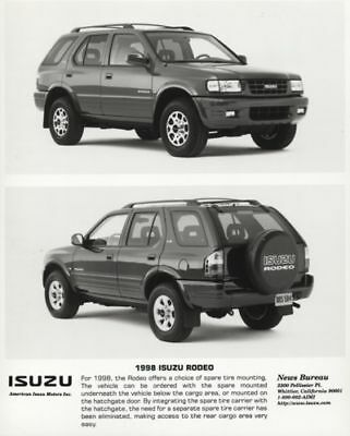 1998 Isuzu Rodeo Press Photo and Sales Release